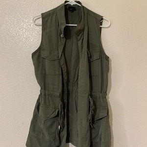Mossimo Army Green Vest